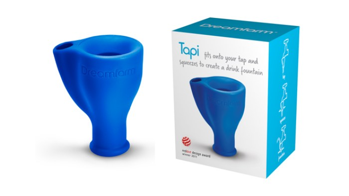 What we're crushing on, Tapi, drink fountain, squeezable, bathroom accessory, gadget, what we love