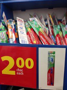 walmart spring savings, toothbrushes