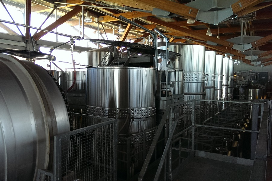 Jackson Triggs Fermentation Vats