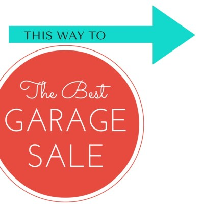 How to Prepare for a Garage Sale