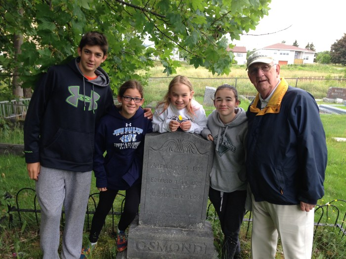 family travel in Newfoundland, search for your roots in Victoria, NL