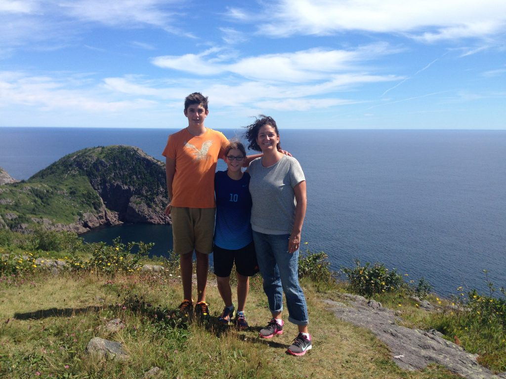 Gorgeous views on the hike from Signal Hill to Quidi Vidi!