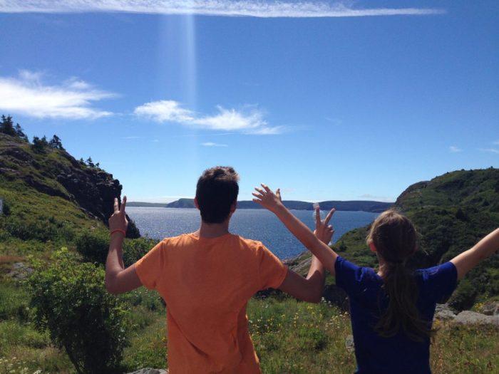 family travel in Newfoundland, Signal Hill, St. John's beautiful views