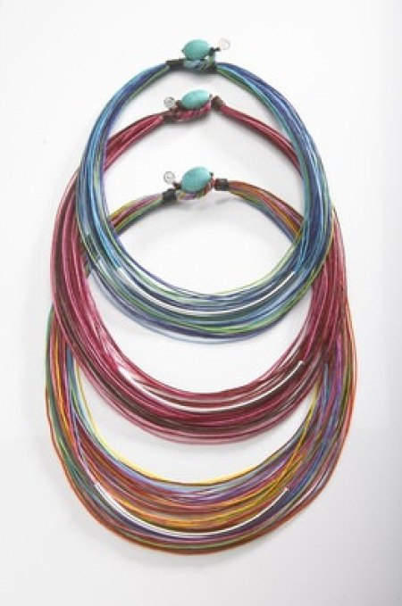 multistrand necklace from Etsy