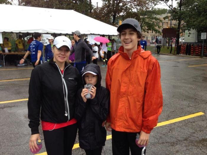 Sunnybrook run for kids and giving back
