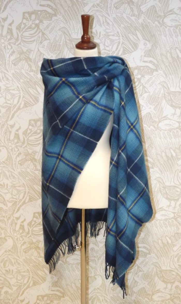 Tartan Serape from Scotland