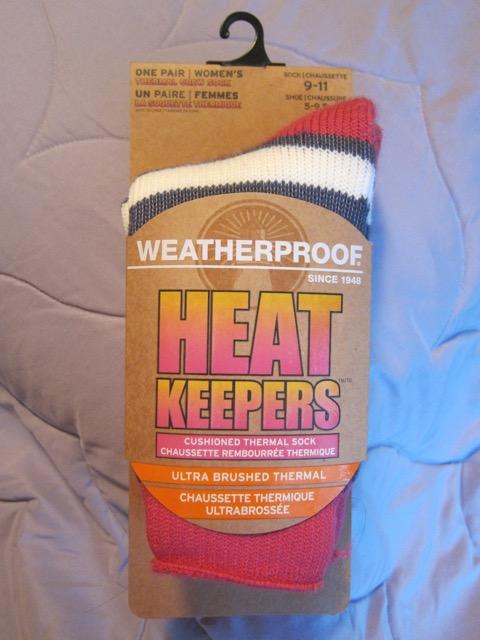 heat keeper socks