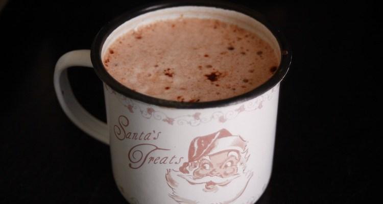 Creamy hot chocolate mix