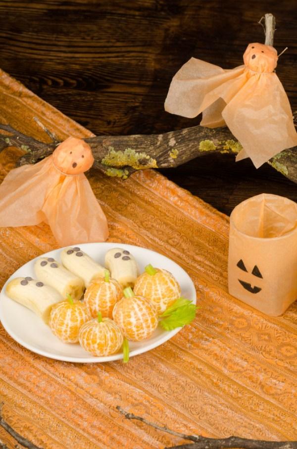 health halloween snacks, making healthy food fun for Halloween