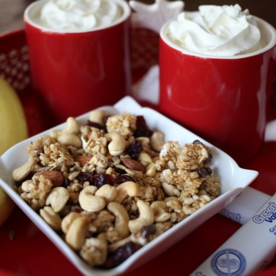 Keep Afterschool Hunger at Bay with Homemade Trail Mix