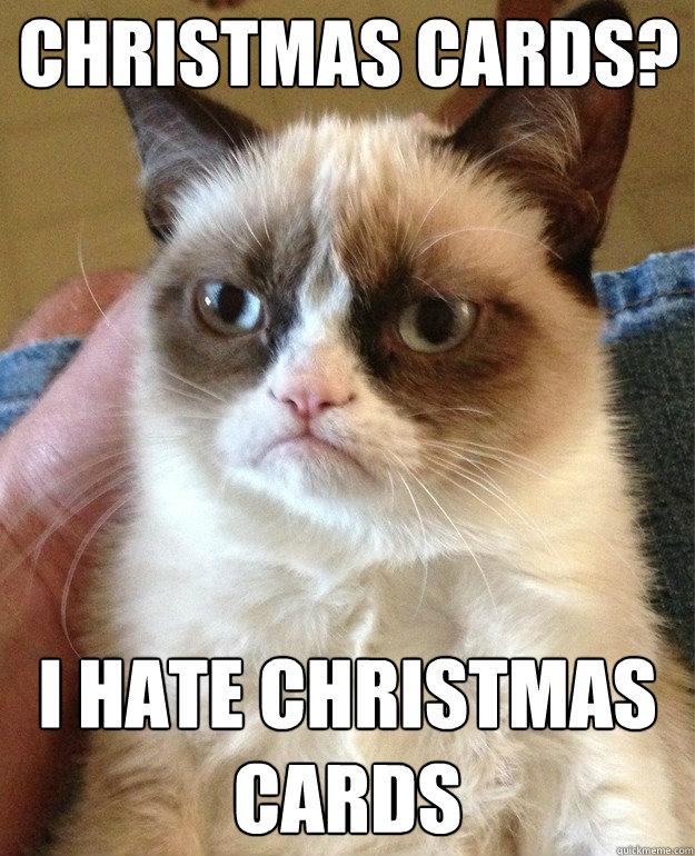 Christmas Card Meme