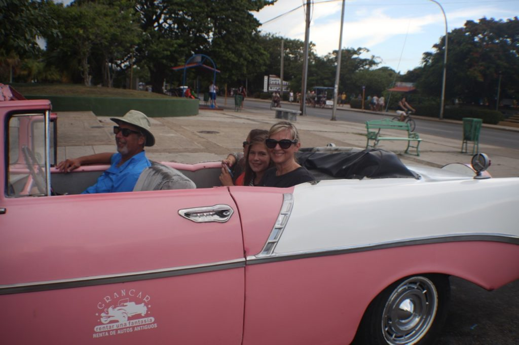 Old Cars in Varadero family travel cuba