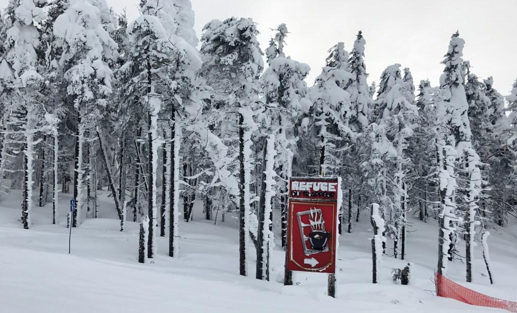 dining in tremblant, refuge, ski shack