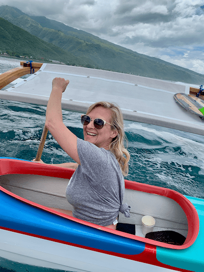 book a va'a tour in tahiti
