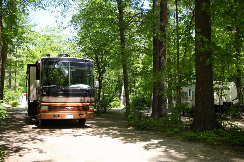 RV Escape, camping in Lake George