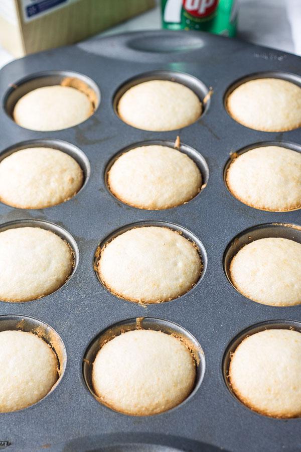 7UP cupcakes
