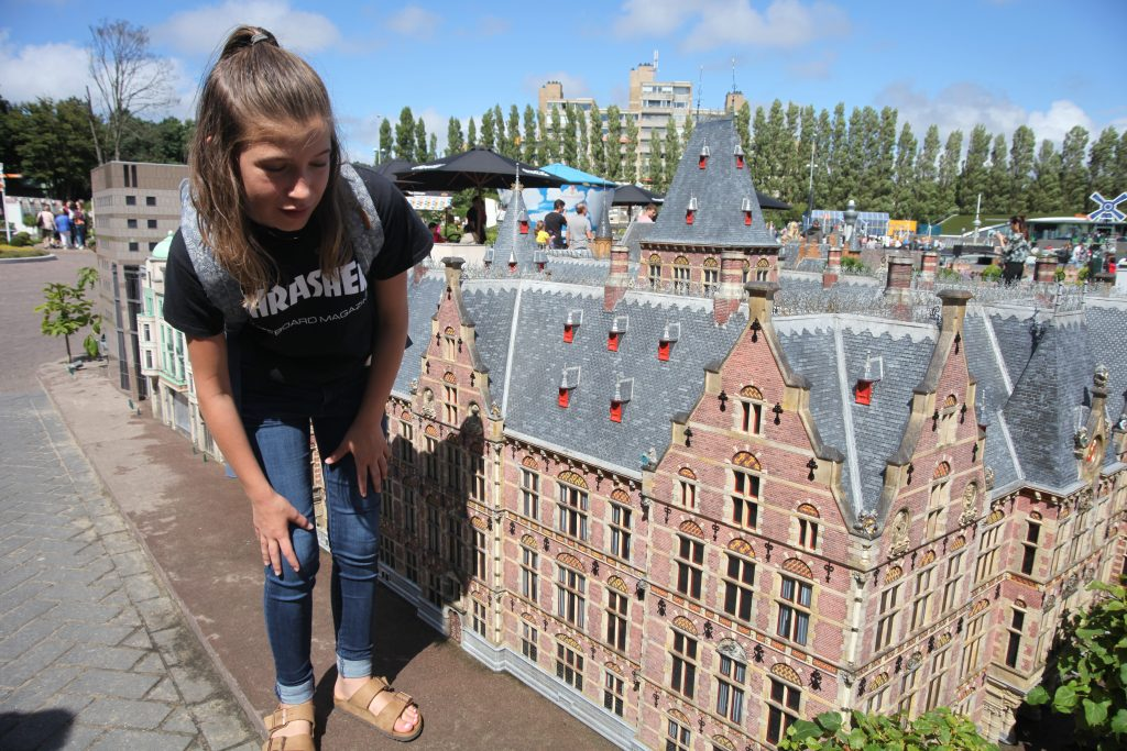Madurodam Theme Park, tiny buildings, replicas, Holland, Netherlands, The Hague