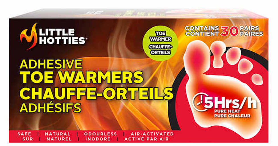 best winter beauty products, Little Hotties Adhesive Toe Warmers Costco