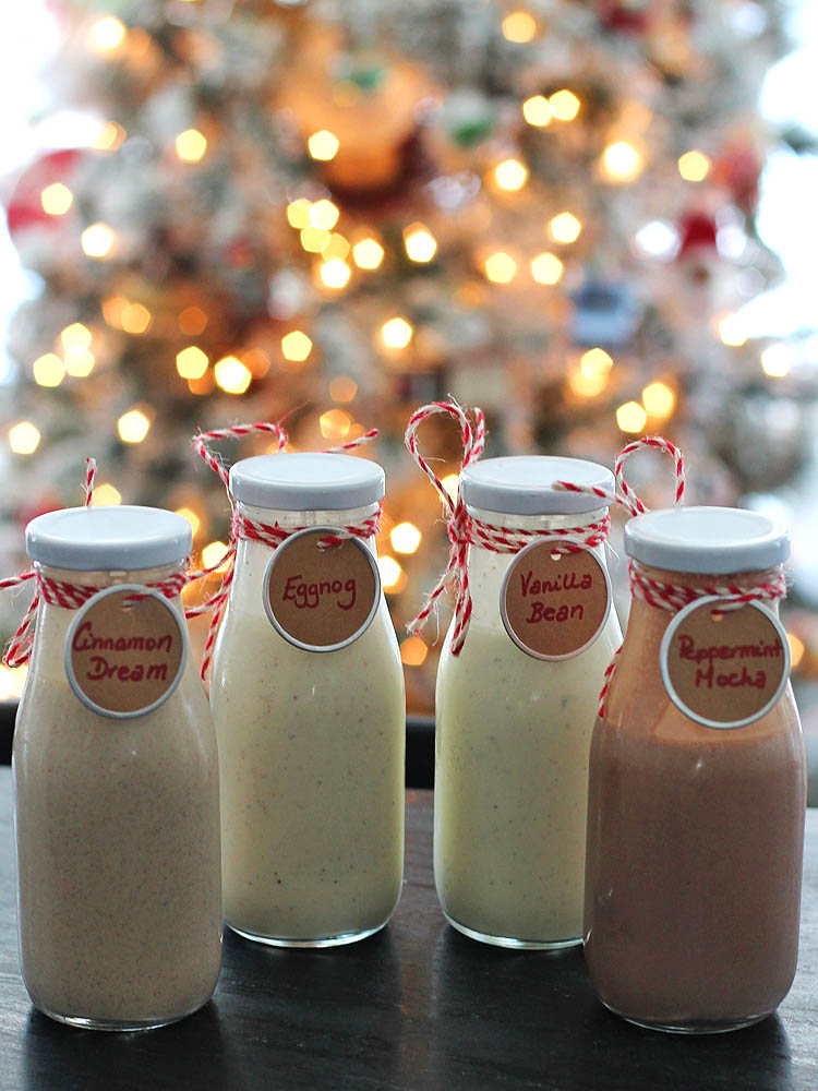 Homemade Christmas Creamers