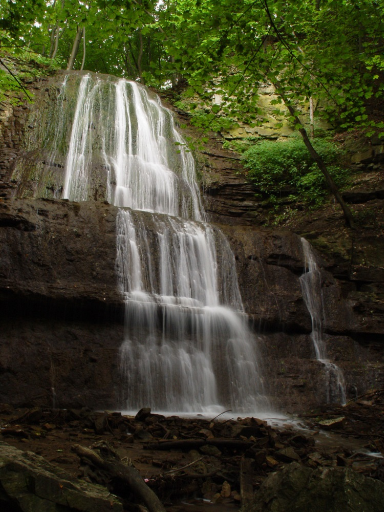 Sherman Falls - A short list of some of the nicest waterfalls in Hamilton, complete with nearby walking and biking trails.