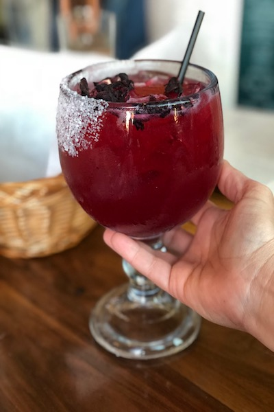hibiscus Margaritas, how to make, recipe