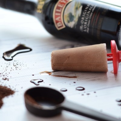 Adult-Only Mocha Baileys Fudge Pop Recipe