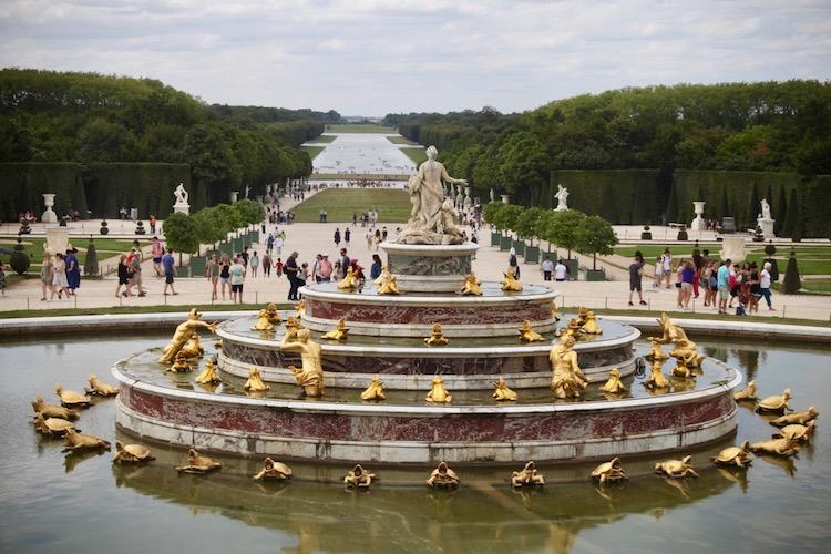 first trip to Paris, visit Versailles