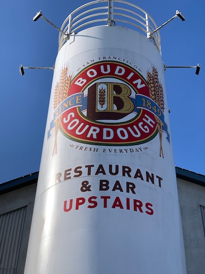 stuck in san francisco, boudin, where to dine
