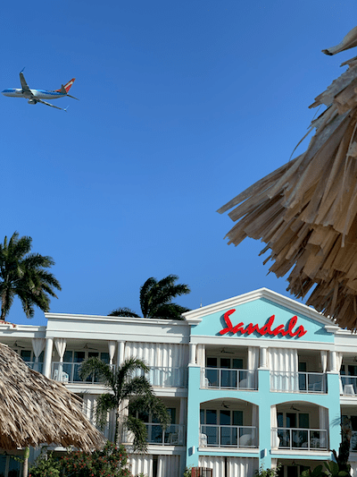 Sandals Montego Bay, close to airport