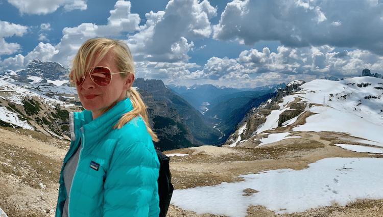 Hiking in Italy, The Dolomites, Tre Cime, Refuge