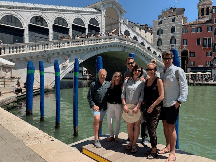 Rialto Bridge in Venice, busiest spots in Venice, where to avoid, travel Tips for Venice