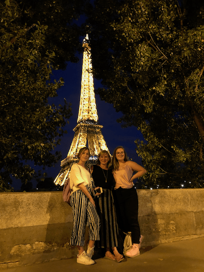 visiting Paris with teens