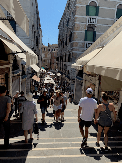 Shopping in Venice, shop local, before you go to Venice, travel tips for Venice