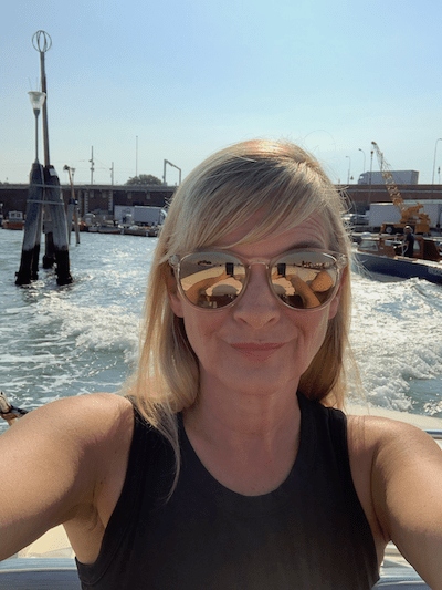 Taking a water taxi back to the Tronchetto, tips for travel to Venice, getting around Venice