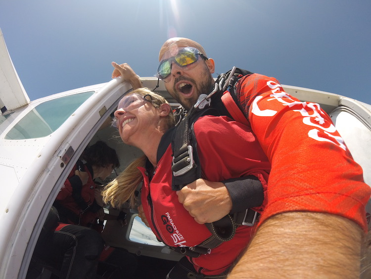 skydiving in Ottawa