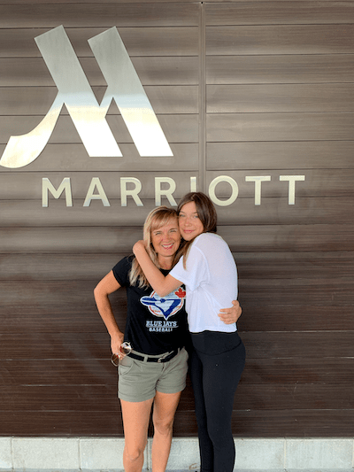 Staying at the Marriott City Centre, Toronto with Teens