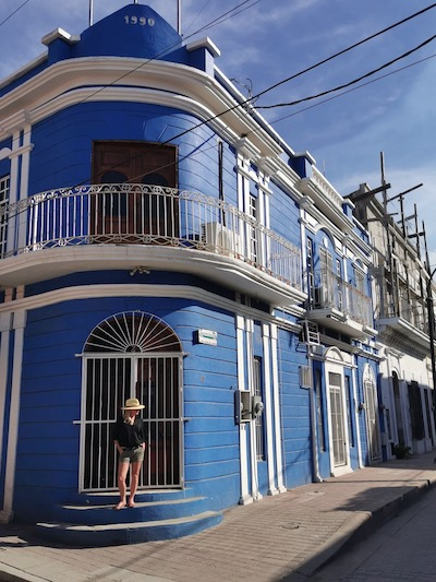Historic building in historical district in Mazatlán