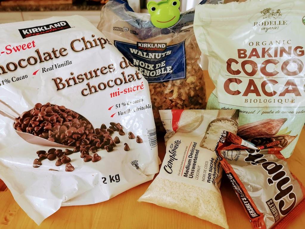 kitchen sink brownies ingredients
