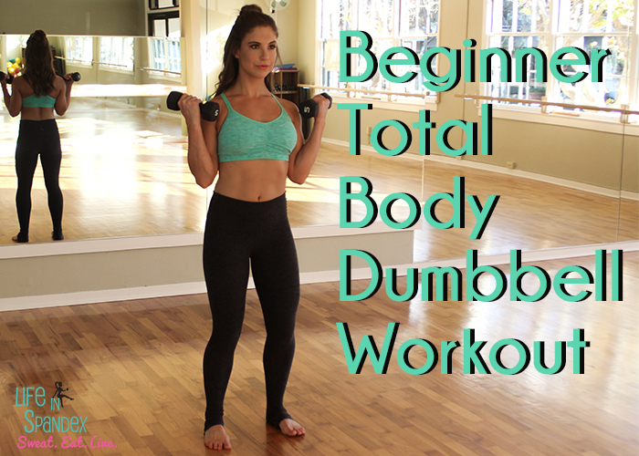 Beginner Dumbbell Total Body Workout