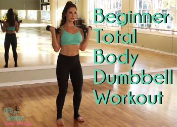 beginner total body dumbbell workout featured