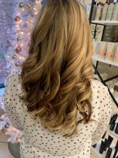 gorgeous extensions from Salon Euphoria in Summerville