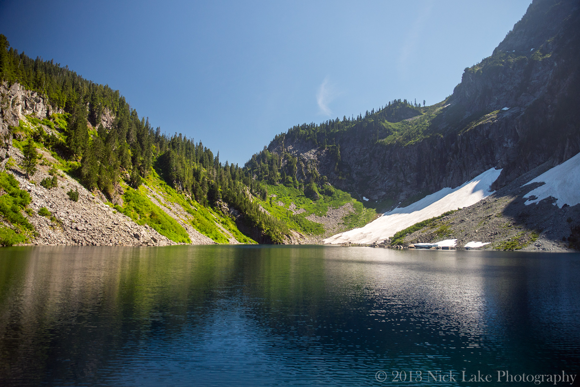 Serene Lake Index Peak Washington