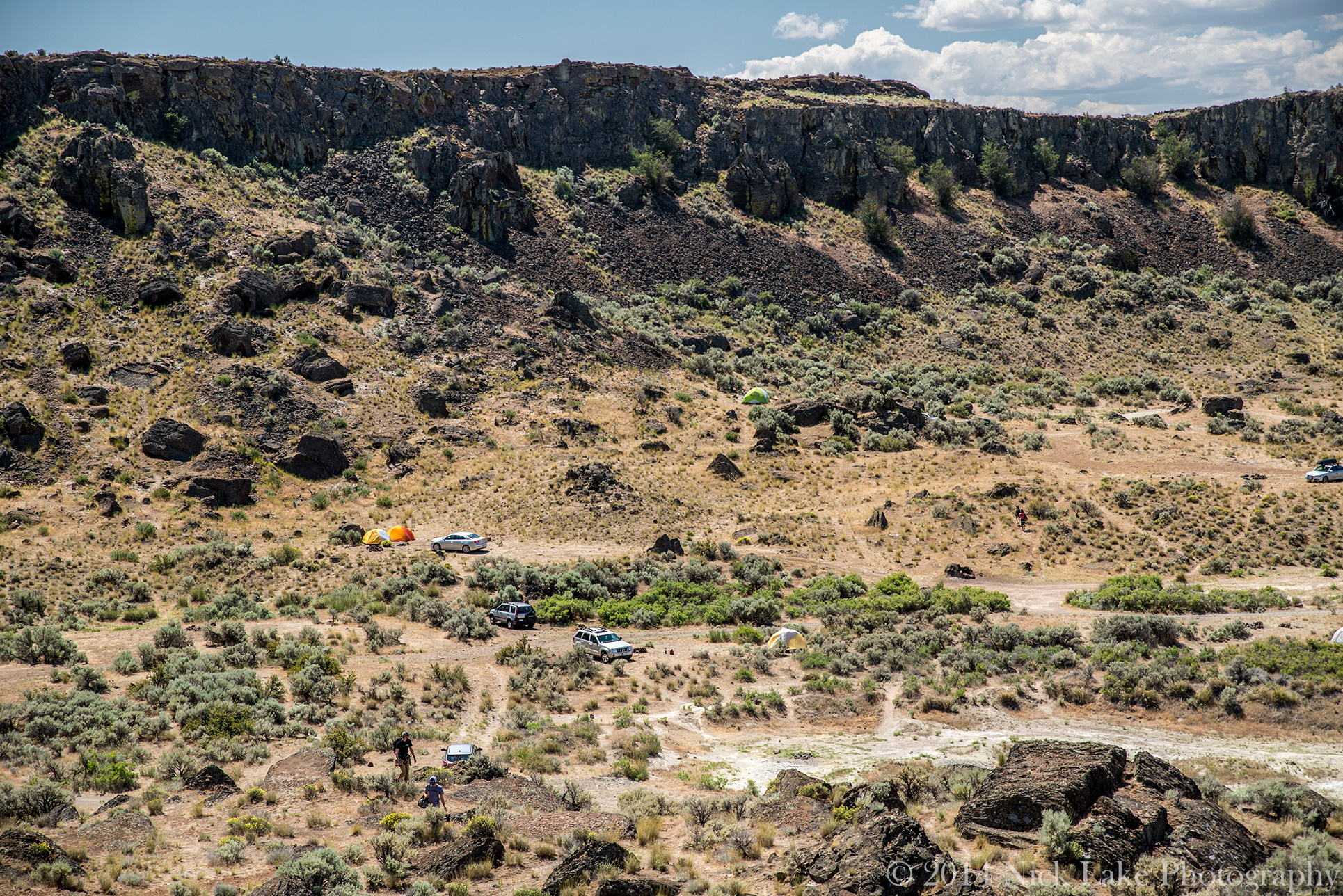 Camping Frenchman Coulee Feathers Vantage Washington