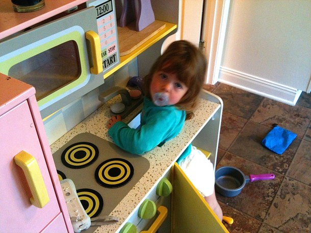 Stuck in the Kitchen
