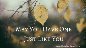 May You Have One Just Like You