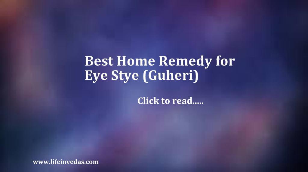 21 Remedies How To Get Rid Of Stye On Eye Fast