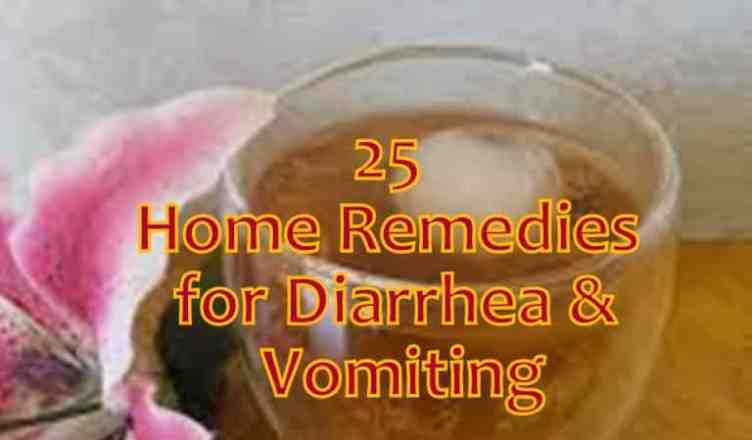 Vomit and Diarrhea