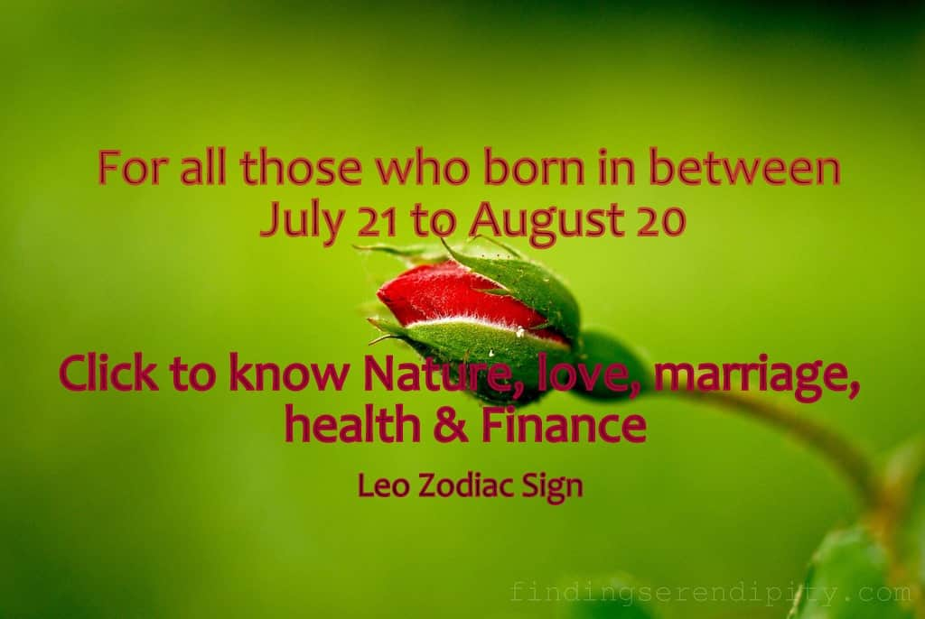 Leo Zodiac Sign Meaning & Personalty Traits - Life In Vedas