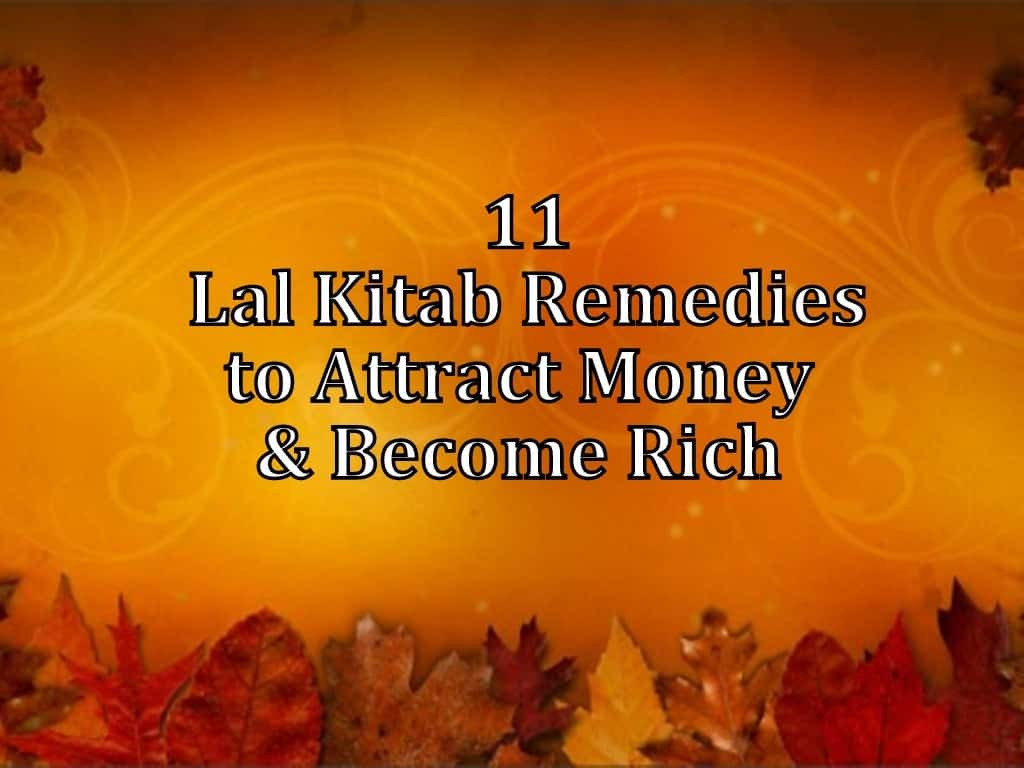 Lal Kitab Remedies for Wealth