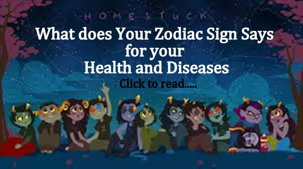 12 Zodiac Signs & Your Health Problems
